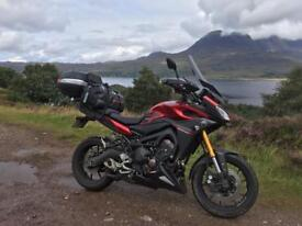Yamaha MT09 Tracer - with lots of extras