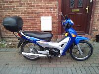 2006 Honda ANF Innova 125 motorcycle, new 1 year MOT, low miles, very good runner, ride away bargain