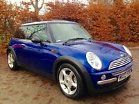 MINI COOPER 1.6 AUTOMATIC 2003.. PANORAMIC SUNROOF.LONG MOT SERVICE HISTORY..NOT CLIO FIESTA CORSA..