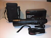 Sigma 150-500mm F/5-6.3 APO DG OS for CANON