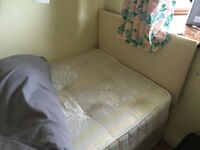 Nearly new single bed for sale