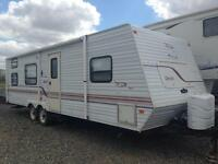 1999 Triple bunk 29' Jayco 1/2 towable