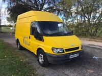 2003 53 FORD TRANSIT 2.3 FACTORY BI FUEL LPG YELLOW TOW BAR BULKHEAD GOOD TYRES STUNNING PX SWAPS