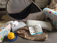Koo-di pop up travel bubble cot