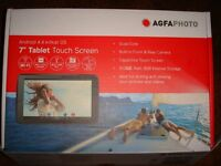 "Agfaphoto 7"" Quad Core Tablet Touch Screen 4.4 Kitkat Android Wifi"