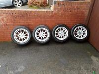 4 16inch bmw ally wheels