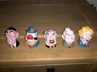 "Spitting image "" political heads"""