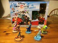 Disney Infinity (Sony PlayStation 3, 2013) plus extra character