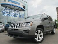 2011 Jeep Compass Sport FWD + TOIT TEINTED WINDOWS + MAGS + A/C