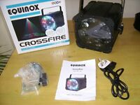 Equinox Crossfire Dj lighting effect mint condition 3 months old.