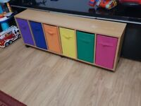 Kids Chest of drawers Cabinet Sideboard on wheel