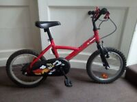 Children bike 16' in perfect condition