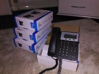 4 x IP Phones HD suit small business