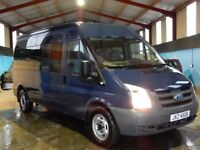 2009 Ford transit minibus 15 seater with only 36000 miles, psvd june 2018