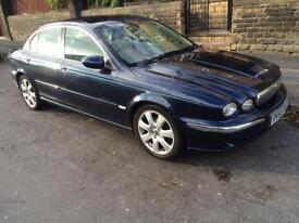 2005 JAGUAR X TYPE 2.2 DIESEL/FULLY LOADED/6 SPEED/SAT NAV/ALLOYS/CRUISE CONTROL ETC PX WELCOME