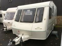 ☆ ELDDIS CROWN REGENT ☆ 4 5 BERTH TOURING CARAVAN ☆ 2000 ☆ 1 OWNER FROM NEW ☆ BARGAIN PX TO CLEAR ☆