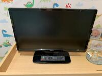 """22"""" tv with DVD player, amazing condition"""