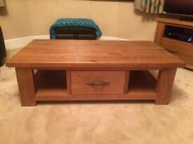Next Hartford solid pine coffee table
