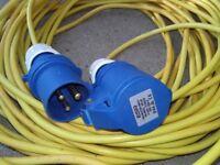 Mains Hook up Cable, Caravan / Motorhome/ Boat.