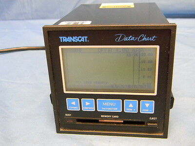 Transcat Dc-1200 Data-chart Recorder Panel Meter