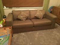 3 seater and 2 arm chairs