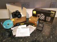 D3300 Camera with lens in original box