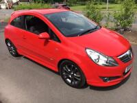 LOOK REDUCED !!! Vauxhall Corsa 1.4 Sxi 57 Reg 77,000 FSH 12 months mot *Sri vxr type styling *