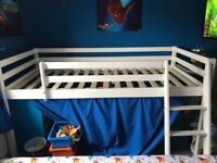 Canin bed with slide