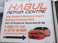 Car & Van Bodywork MOT & Service