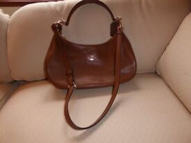 3 ladies' pre-owned leather hand bags for sale, 1 by Coach and 2 by Radley