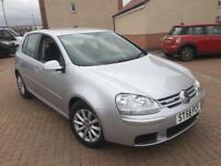 1 owner FSH new t/belt Volkswagen Golf 1.9 tdi 105BHP blue motion 58reg