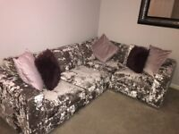 Perfect condition corner sofa and arm chair
