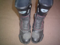 Motorcycle boots size 9..