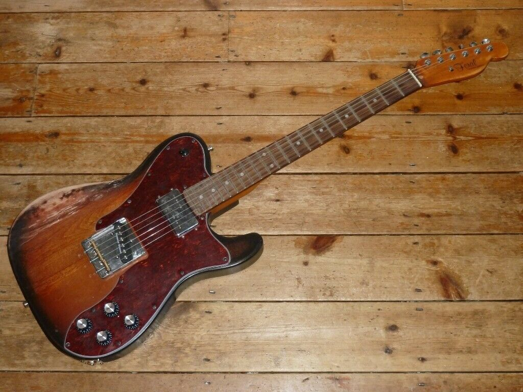 Feral Custom Guitars 72 Telecaster Custom Relic with Seymour Duncan and  Fender pickups   in Hounslow, London   Gumtree