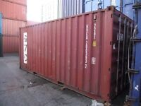 20' Shipping Container, Cargoworthy condition