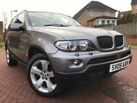*VERY WELL MAINTAINED *2005 BMW X5 3.0 SPORTS DIESEL WITH 12 MTHS MOT FULL LEATHER FULL SERVICE*