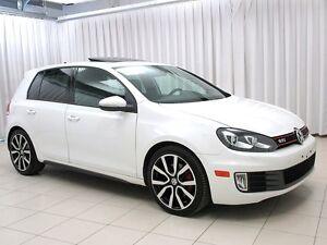 "2012 Volkswagen GTI DSG! Leather! Navigation! 18"""" Alloys! Loade"