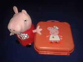 Peppa Pig Playset Doctors Case & Peppa pig toy