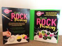 Zap Neon rock painting kit