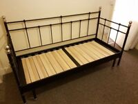 Ikea day bed with 2 matresses