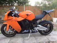 KTM RC8 2012 Orange & Black