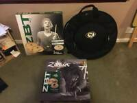 Zildjian ZBT 6 cymbal set with protection Racket case
