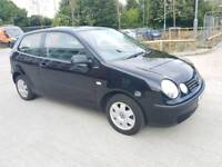 Volkswagen POLO TWIST 1.2 Petrol 3drHatchback 2004 Manual Black Low mileage, Full services History.