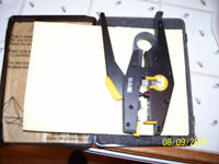 Telephone plug crimpers part no RS475-612