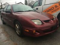 2002 Pontiac Sunfire 4Dr Sedan SL