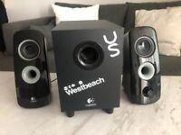 Selling Logitech speakers