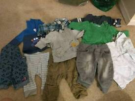 3-6 months bundle of baby boy clothes