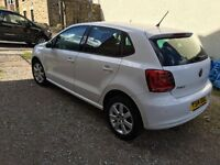White Volkswagen polo for sale