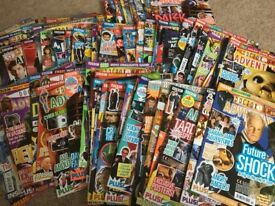 Collection of Dr Who Adventure Comics and Variouse Annuals,