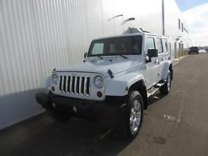 2012 Jeep Wrangler Sahara Unlimited Leather/Nav/HtdSeats/Sirius